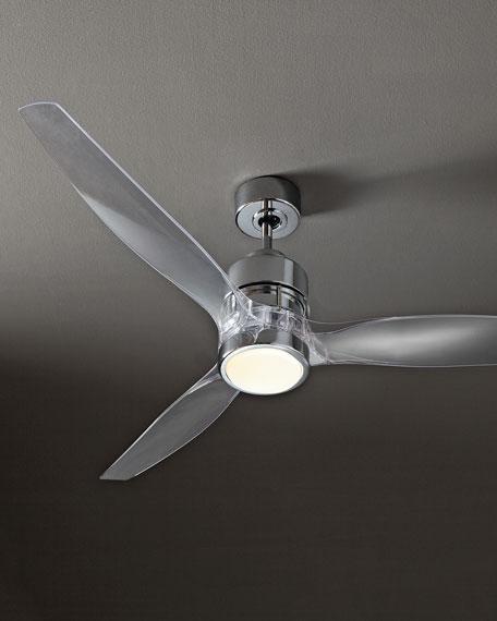 """52"""" Sonet Chrome Ceiling Fan"""