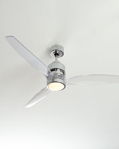 52 sonet chrome ceiling fan