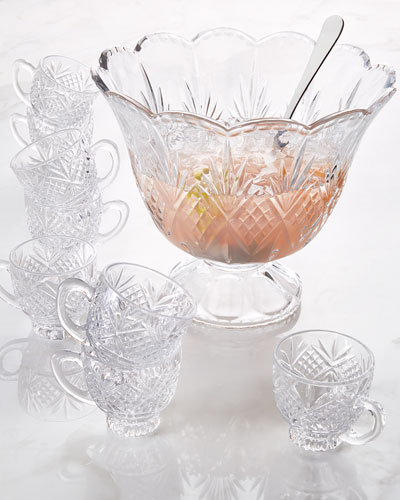 10-Piece Dublin Punch Bowl Set