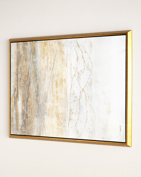 """Golden Horizon"" Giclee on Canvas Wall Art"