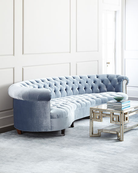 luxurious living room furniture. Rebecca Mirrored Sofa Luxury Living Room Furniture at Neiman Marcus