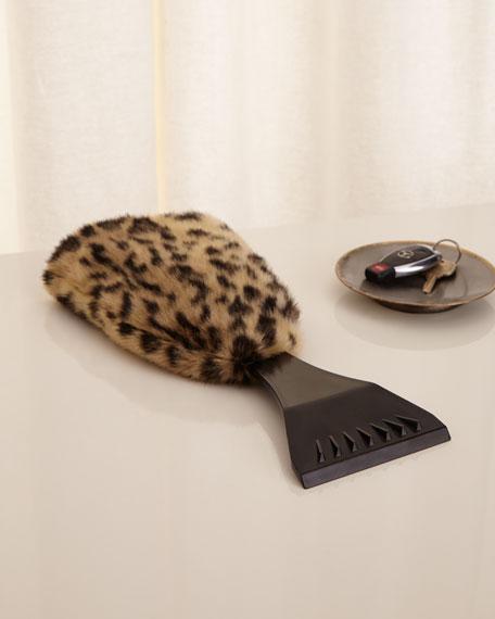 Leopard Ice Scraper