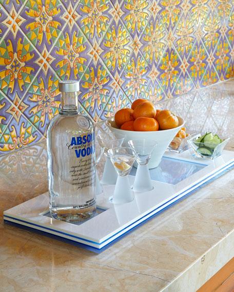 Palm Beach Cocktail Tray