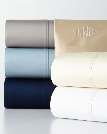 Two Standard 800 Thread Count Bedford Pillowcases