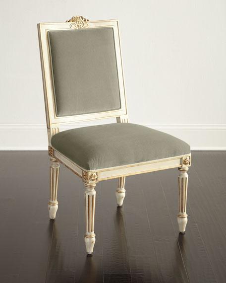 John-Richard Collection Valerie Velvet Dining Chair, Set of