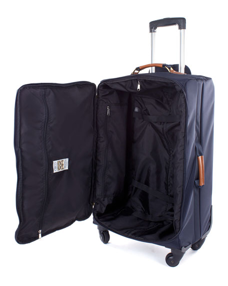 """Bric's Navy X-Bag 30"""" Spinner Luggage"""
