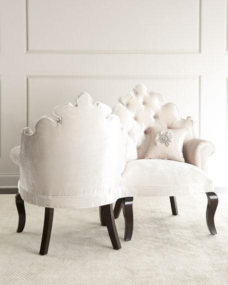 Haute House Isabella Tete-a-Tete Chair