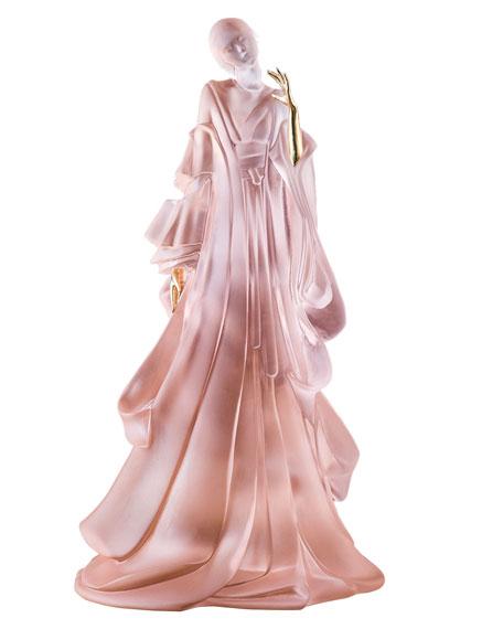 Daum Kabuki Lady Figurine