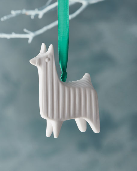 Jonathan Adler Llama Christmas Ornament