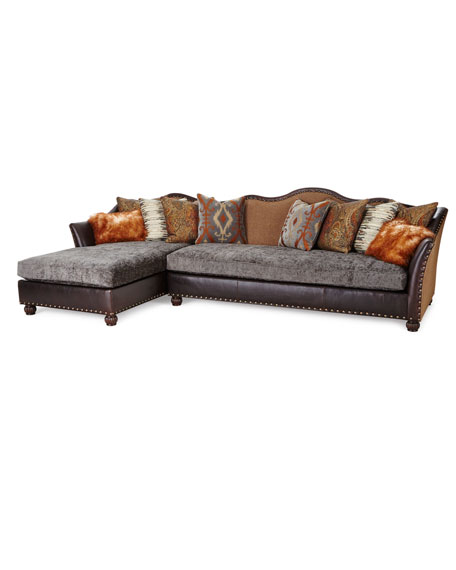 "Brenda Left-Chaise Sectional Sofa 146"""