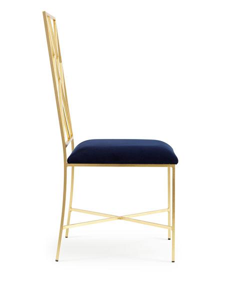 Sadie Fretwork Dining Chair