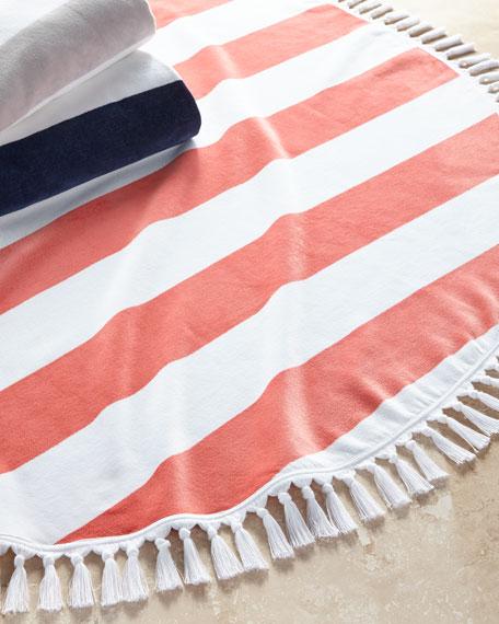 Kassatex Cabana Round Beach Towel