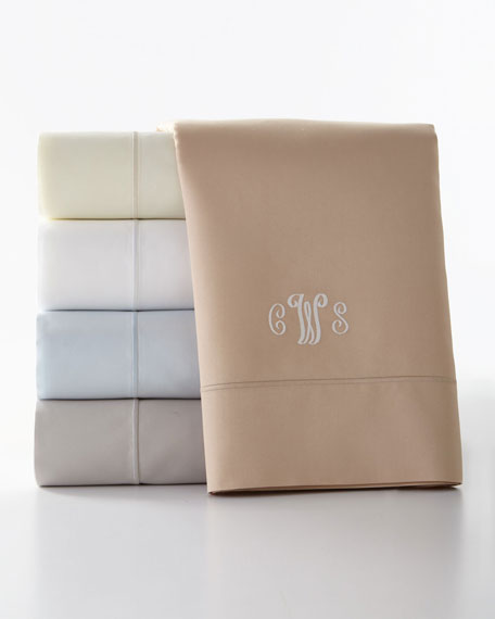 California King Marcus Collection 400 Thread-Count Solid Sheet Set