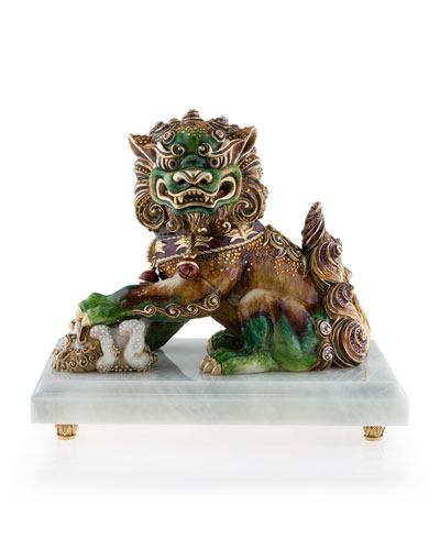 Jay Strongwater Foo Dog, Female