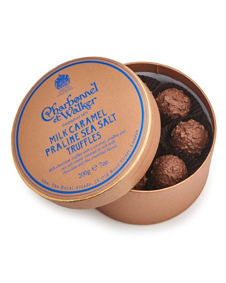 Charbonnel Et Walker Milk Sea Salt Caramel Praline Truffles