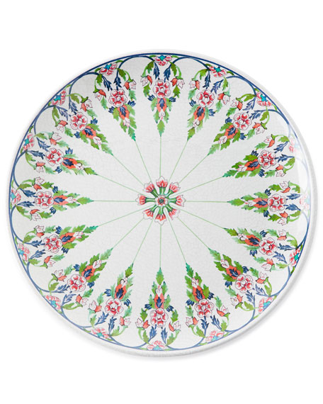 Juliska Lalana Floral Melamine Dinner Plate