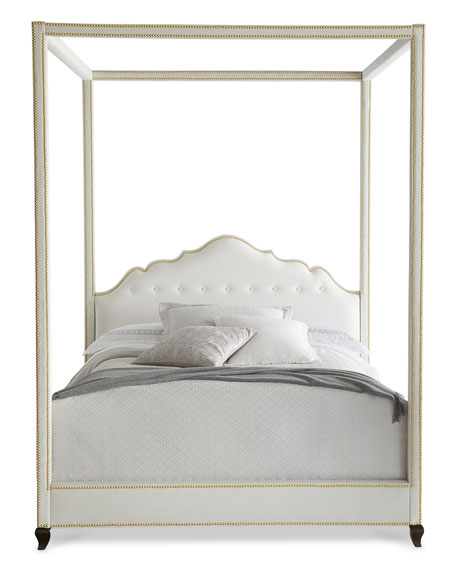 Haute House Athena Queen Canopy Bed