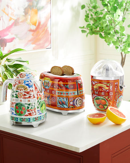 Image 2 of 6: Dolce Gabbana x SMEG Sicily Is My Love Toaster