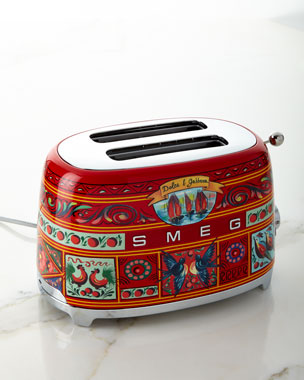 Smeg Dolce Gabbana x SMEG Sicily Is My Love Toaster