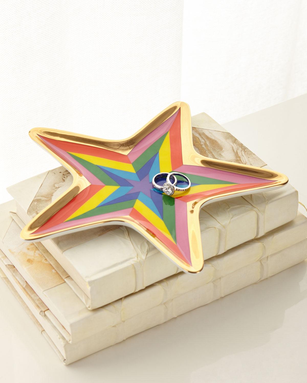 Technicolor Star Trinket Tray by Jonathan Adler