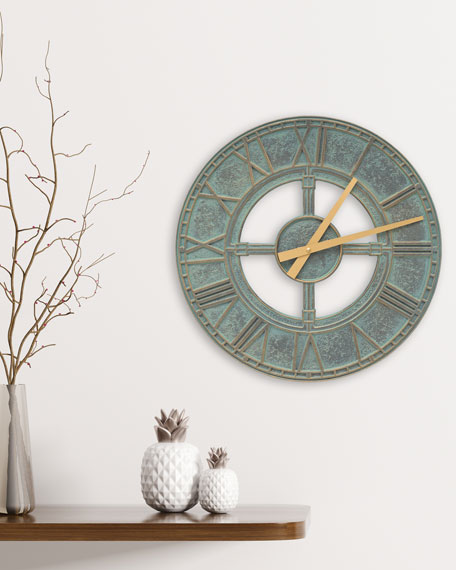 "Image 1 of 1: Hera 16"" Indoor/Outdoor Wall Clock"