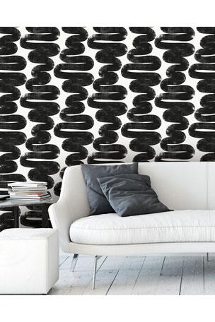 Tempaper Wiggle Room Removable Wallpaper