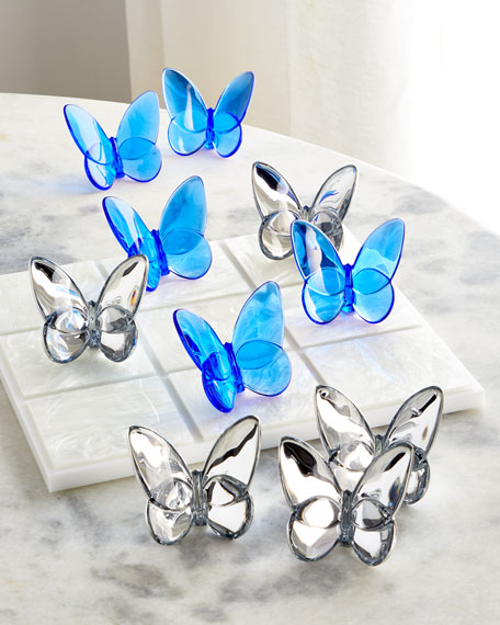 Baccarat Butterfly Tic-Tac-Toe Set