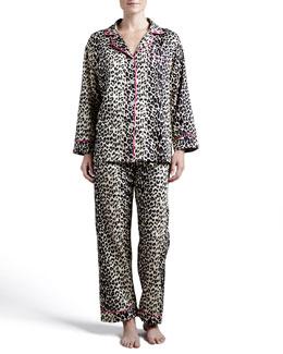 Bedhead Leopard-Print Pajamas