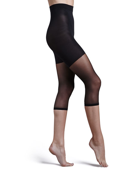 Image 2 of 2: Spanx Power Capri Shaper Tights