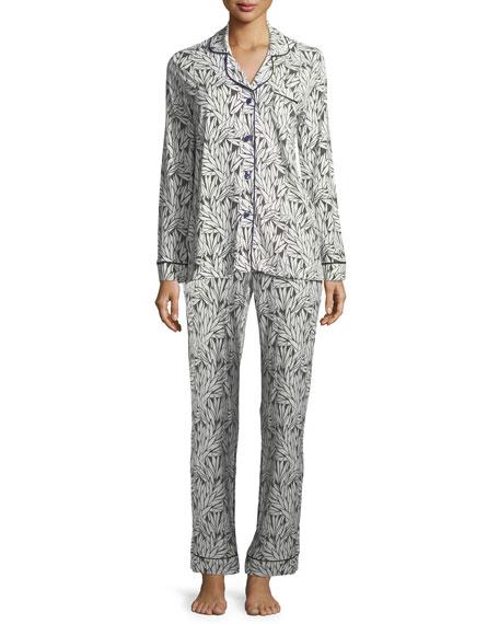 fbca53ee658c Cosabella Bella Dot-Print Long-Sleeve Pajama Set