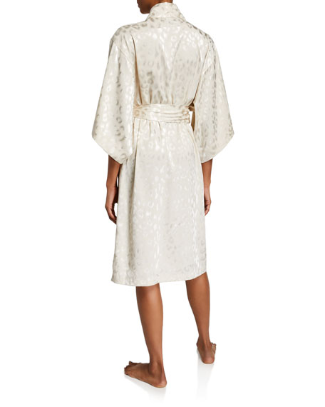 Image 2 of 2: Decadence Tonal-Print Robe
