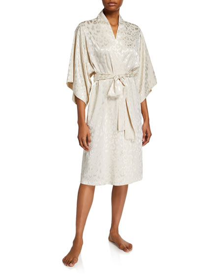 Image 1 of 2: Decadence Tonal-Print Robe
