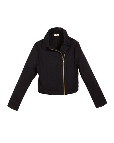The Moto Jacket  Size S-XL