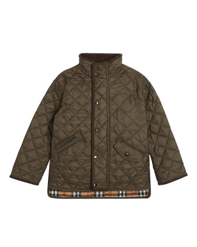 Brantley Quilted Snap Jacket  Size 3-14