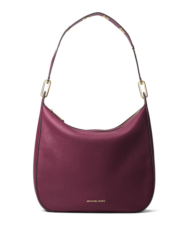 123ee55ba31e MICHAEL Michael Kors Raven Large Leather Shoulder Bag