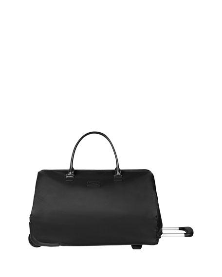 LIPAULT Wheeled Weekend Bag Luggage in Purple