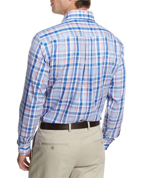Holiday Plaid Sport Shirt