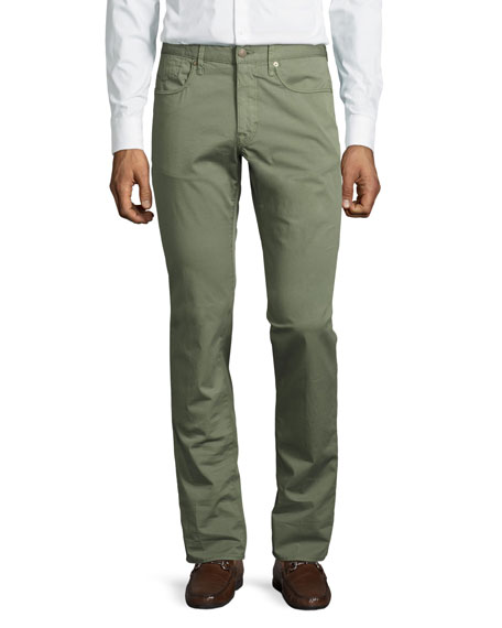 Incotex Ray Standard-Fit Five-Pocket Pants