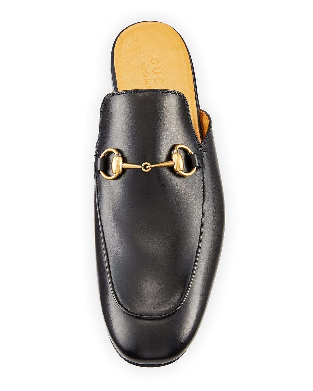 acab58d45 Gucci Kings Mule with Horsebit   Neiman Marcus