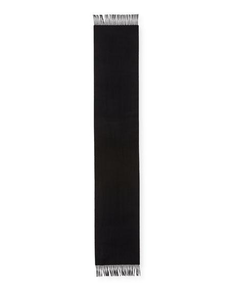 Cashmere Solid Fringe Scarf