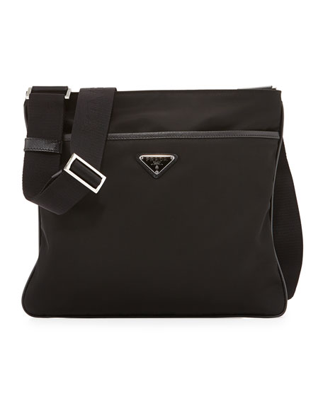 prada leather handbags - Prada Nylon Crossbody Bag