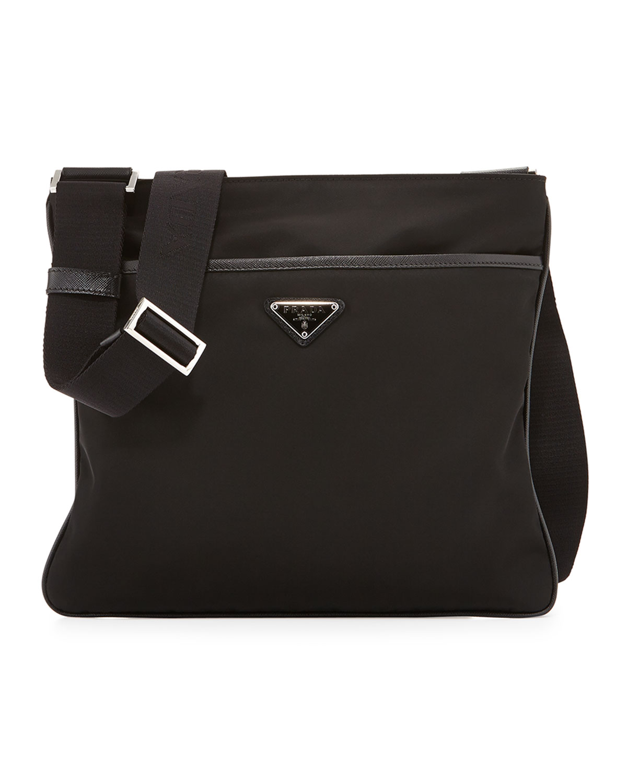 d7421cf95b6f Prada Nylon Crossbody Bag | Neiman Marcus