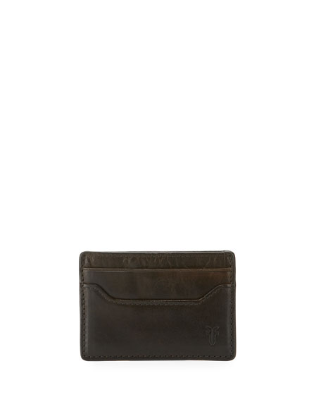 Frye Logan Leather Card Case