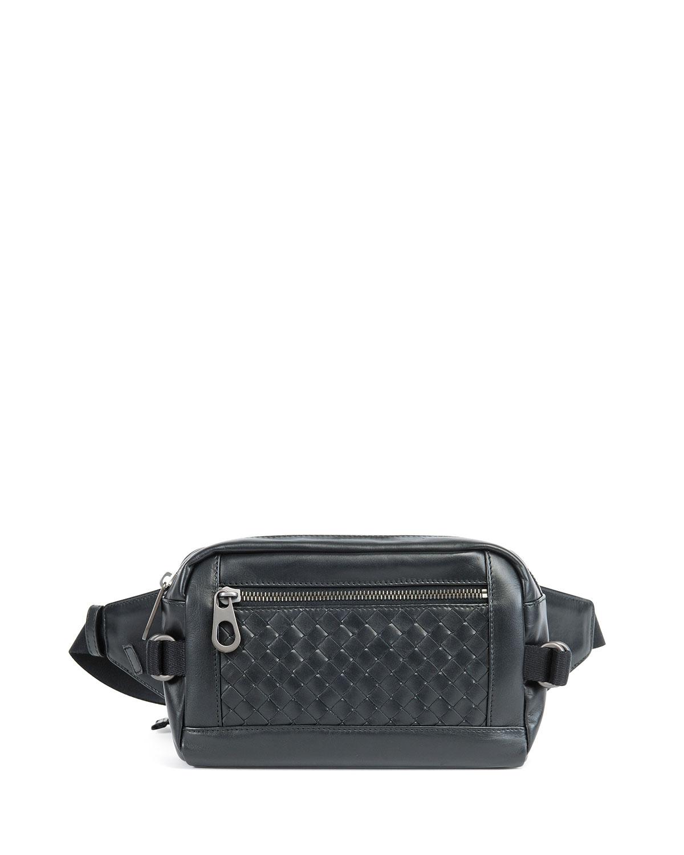 Bottega Veneta Intrecciato Leather Belt Bag  0cc6ee4e636b8