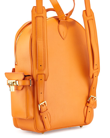 Buscemi PHD Large Leather Backpack | Neiman Marcus