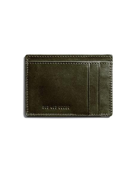 Shinola Men's Six-Pocket Leather Card Case
