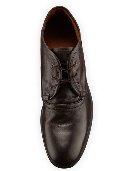 Dylan Distressed-Leather Chukka Boot