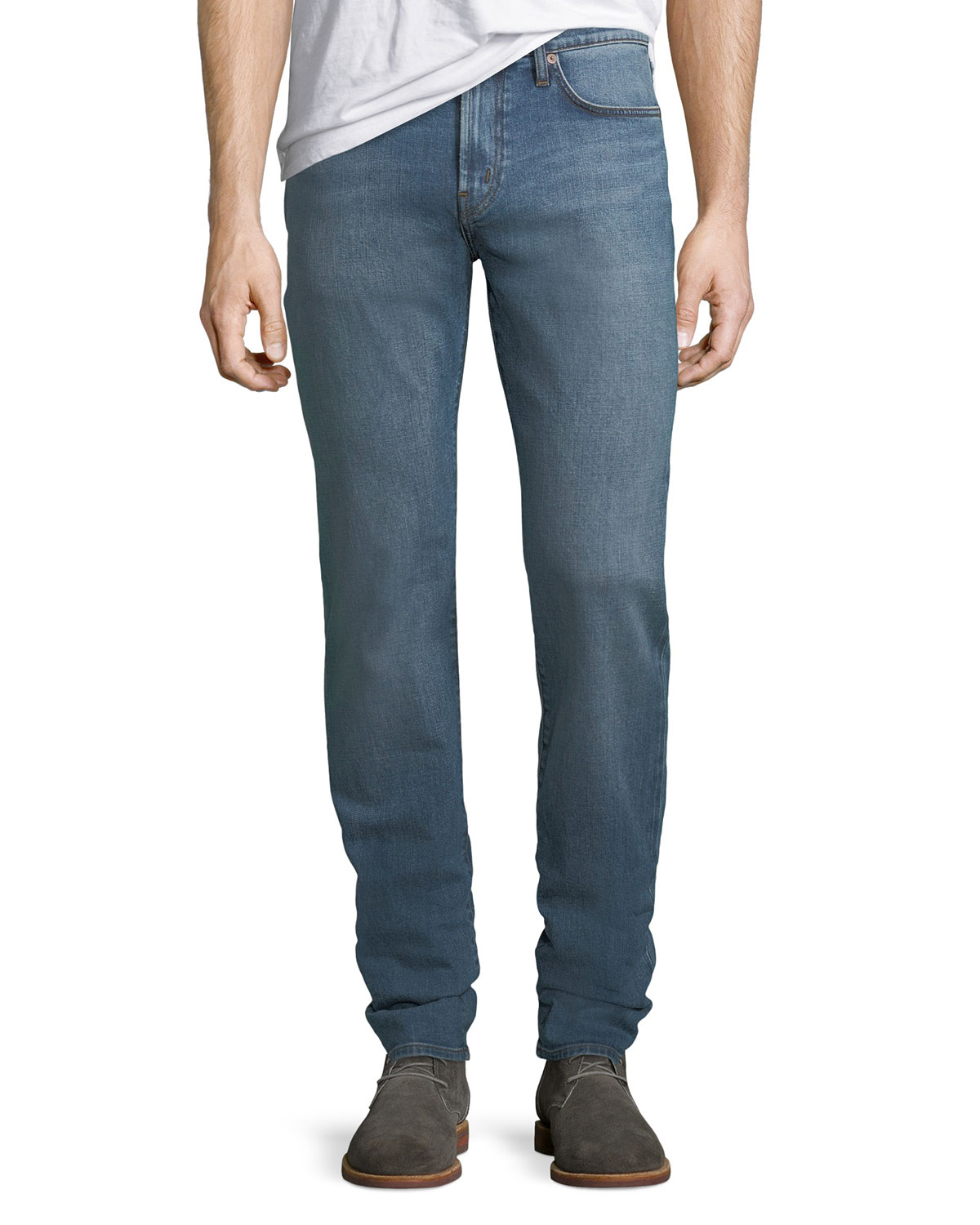 1a6a76ee J Brand Men's Tyler Slim-Fit Pima Cotton Jeans | Neiman Marcus