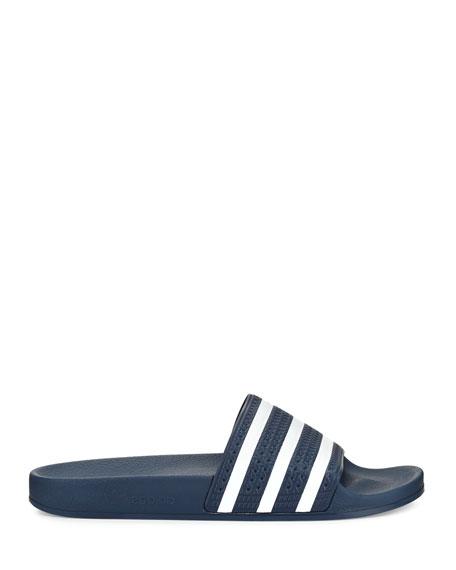 Adidas Men's Adilette 3 Rubber Slide, Navy