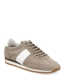 tom ford orford suede trainer sneaker
